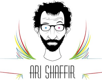 Ari Shaffir 2014 Tour Shirt Project