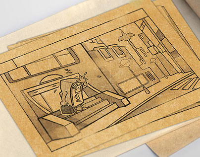 Storyboard character