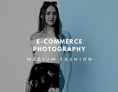E-Commerce Photogrphy (Medium Fashion)