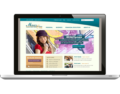 Money One FCU website