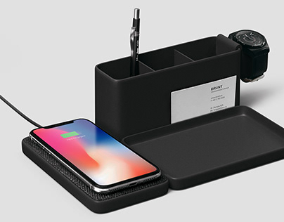Wireless Charger N/ Valet Tray