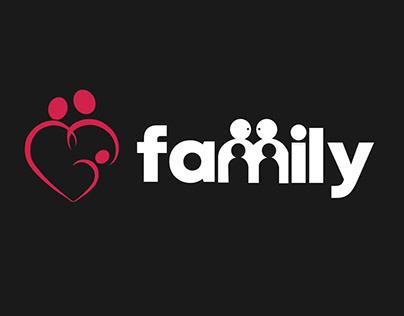 Family Logo Illustration Design