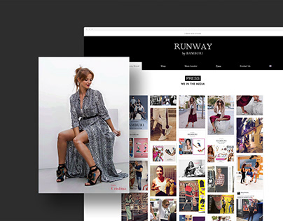 Bamburi & Runway | Webdesign