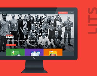 LITS — website of Lviv IT school
