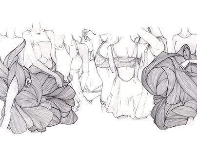 2015 Fashion Sketches