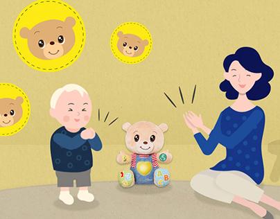 ANIMATION / TIPS: Chicco - Teddy