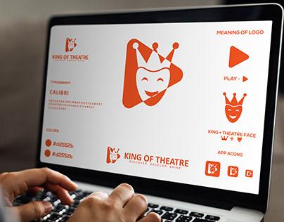 King Of Theatre - Joker Crown - Logo Design.