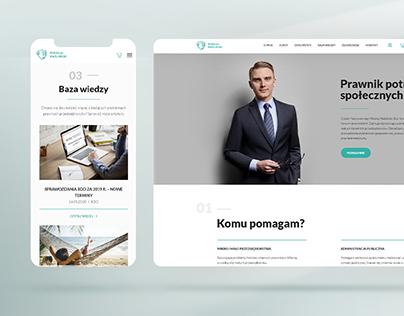 Project web design | Mikołaj Maśliński