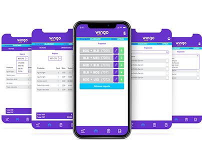 Wingo (On-board sales app)