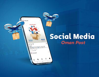 Oman Post l Social Media