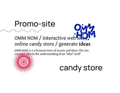 Promo-site | OMM NOM