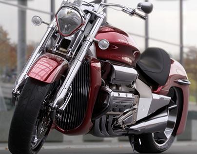 High resolution modeling: Honda Valkyrie Rune
