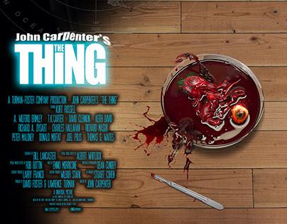 Alternative movie poster - John Carpenter's The Thing