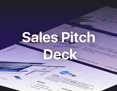 Sales pitch deck for hotel management platform