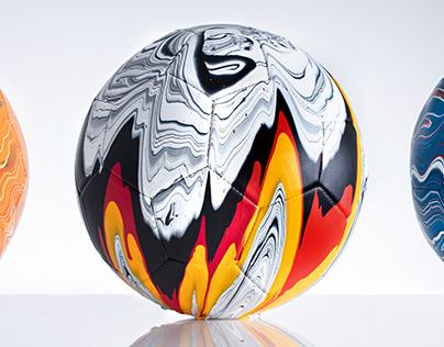 The Fusion Series | Football Art Installation