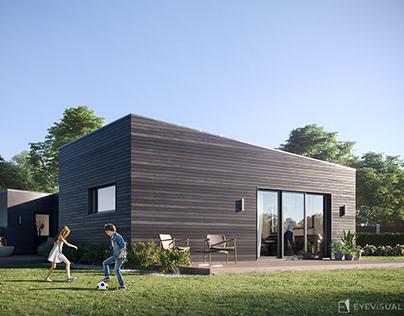 Simple House, France