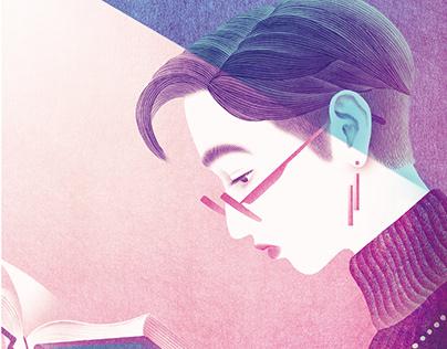 """The literary magazine """"DOKURAKU"""""""