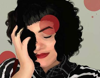 Pintura Digital: Gabriela