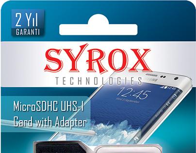 SYROX Hafıza Kartları için Ambalaj Tasarımı