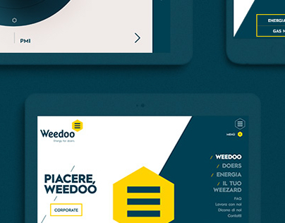 Weedoo - Energy For Doer / Website