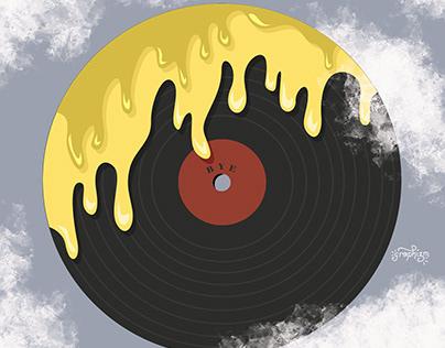Illustration d'un vinyle pour TACK