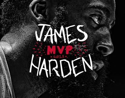 James Harden 2015 MVP Book