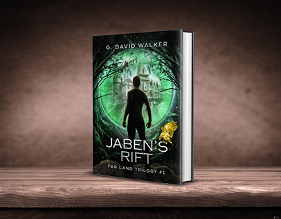 Jaben's Rift book cover design