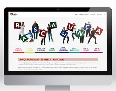 Unça.cat . Beta version web