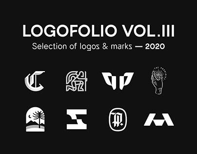 LOGOFOLIO VOL III - Selection of logos & marks 2020