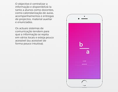 App Belas-Artes (WIP)