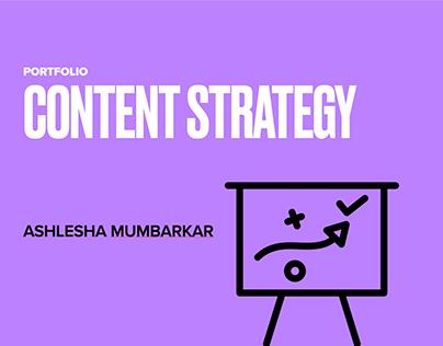 Content Strategy- Portfolio