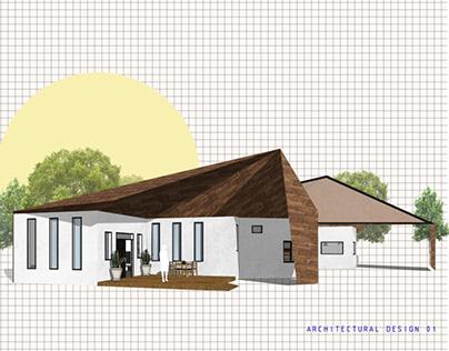 Deconstructivism Bungalow House