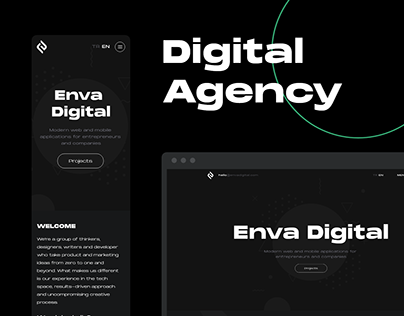 Digital Agency Website - Envadigital.com