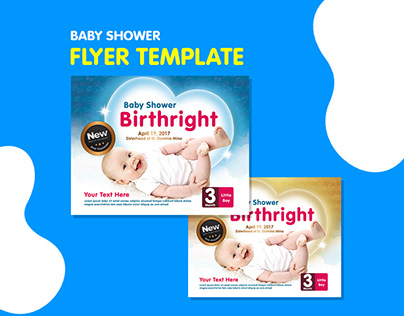 Flyer Template - Baby Flyer