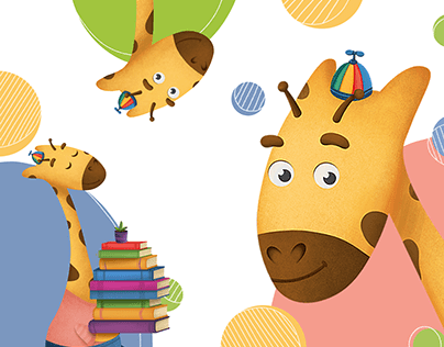 CHARACTER DESIGN & BRAND ILLUSTRATION for kids products