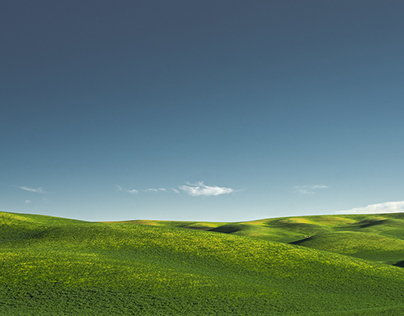 The Rolling Hills Of Palouse