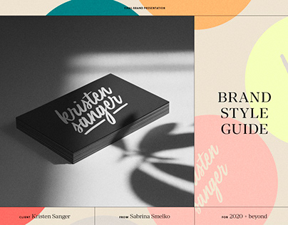 Brand Style Guide and Logotype
