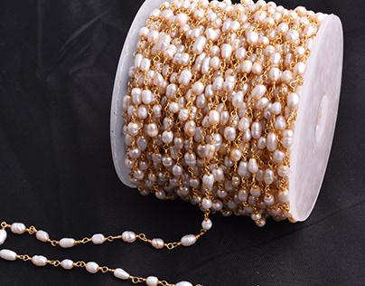 Rosary Chain Jewelry Making at Ak Gemstone Beads