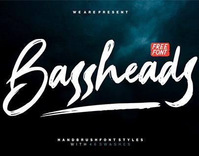 Bassheads - Handbrush Font
