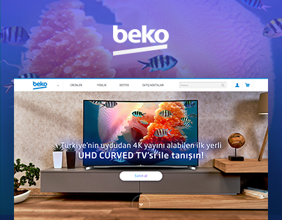 Beko Smart TV Landing Page by SHERPA