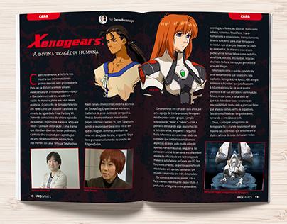 ProGames #1 | Design de revista