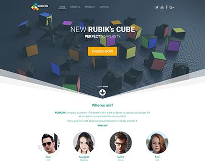Rubik's Cube Website