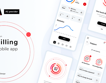 A1 mobile app concept