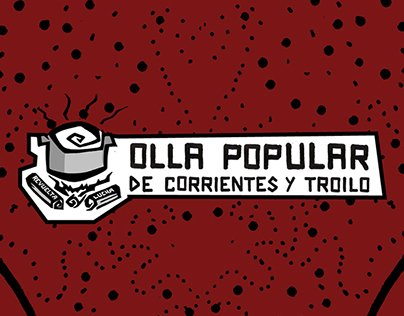 Afiches: Olla Popular Corrientes y Troilo