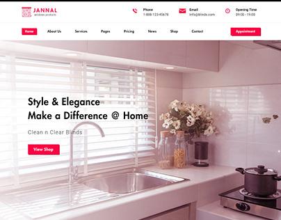 Jannal - Doors Service WordPress Theme
