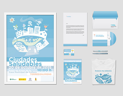 "Branding/campaña ""Ciudades Saludables, Torredonjimeno""."