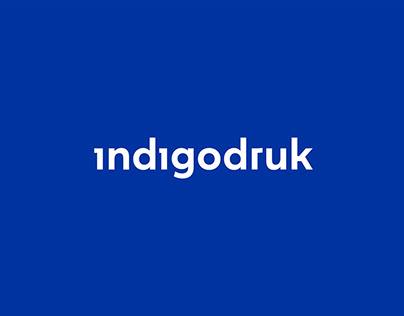 Indigodruk Branding & Key Visual & GUI