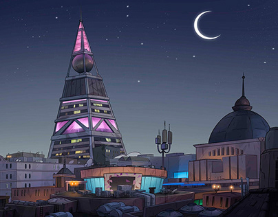 """Animation Backgrounds """"Masameer county"""""""