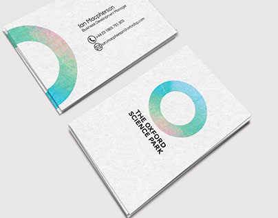 Project: Redesign Logo for The Oxford Science Park