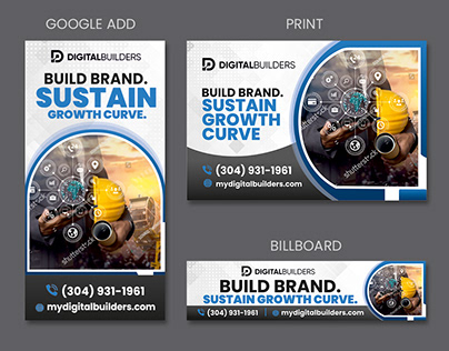 Graphics for advertisements on different media